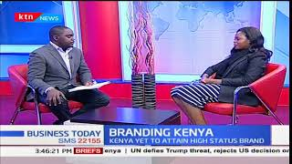 KTN's Aby Agina grills Mary Luseka-CEO,Brand Kenya on Branding Strategy