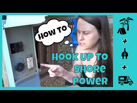 RV ELECTRIC - HOW TO HOOK UP SHORE POWER TO YOUR RV