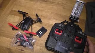 Unboxing + Review - Mini Drohne M5 mit Kamera von Metakoo