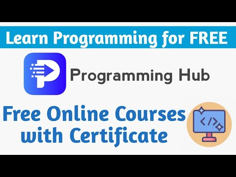 Programming Hub Free Online Courses with Certificate   Learn Any ...