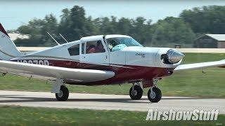 Oshkosh Arrivals/Departures (Tuesday Part 1) - EAA AirVenture Oshkosh 2018