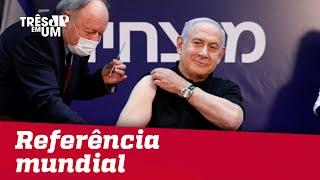 Campanha de vacinação em Israel traz queda nas internações de idosos