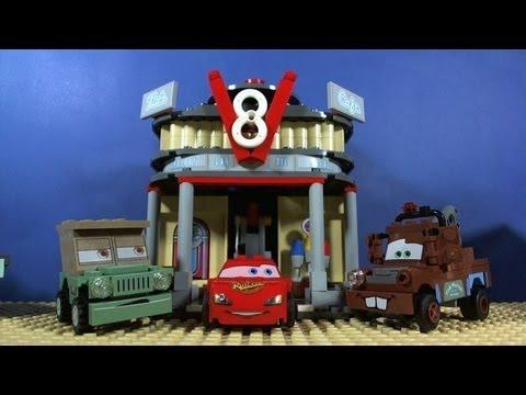 Vidéo LEGO Cars 8487 : Le Café V8 de Flo