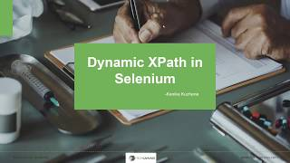 How to locate Dynamic Elements in Selenium Webdriver - XPATH Tutorial