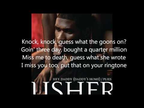 Hey Daddy - Usher Feat. Plies (Lyrics)