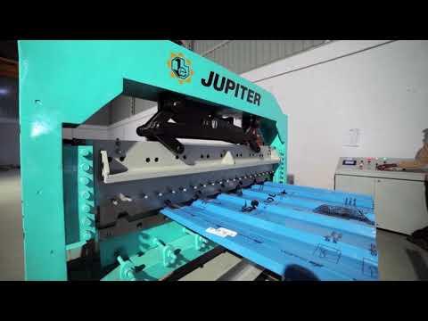 Deck Sheet Roll Forming Machine