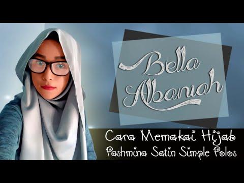 Video Cara Memakai Hijab Pashmina Satin Simple Polos 2016