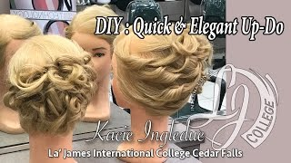 DIY : Quick & Elegant Up-Do