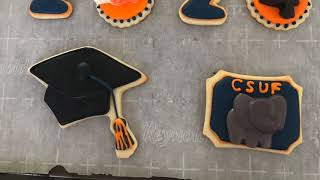 Bake With Me: Graduation Cookies Part 2
