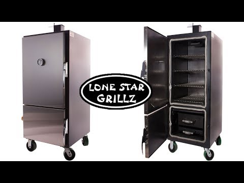 Seasoning my Lone Star Grillz Large Insulated Vertical