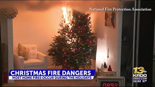 How to avoid a Christmas house fire