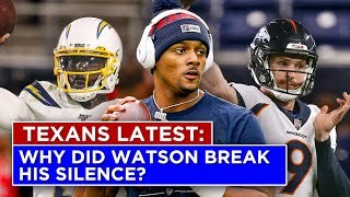 What latest INSANE developments could mean for the Texans QB position