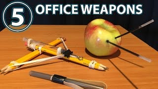 5 COOL Office Weapons INVENTIONS That Actually WORK!