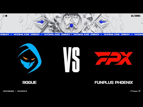 RGE vs. FPX   Worlds Group Stage Day 4   Rogue vs. FunPlus Phoenix (2021)