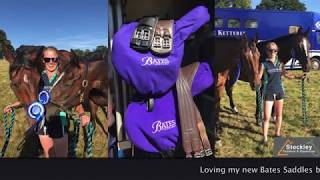 Will & Toga in their Bates Saddles from Stockley Outdoor & Equestrian