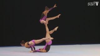 preview picture of video 'Sachsenpokal Riesa 2012 Junioren Balance Women's Group Germany - Heinz, Schuhmacher, Mehlhaff'