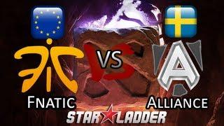 Fnatic vs Alliance - Starladder S7 DoTA 2 Highlights