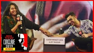 Social Media Sensations CarryMinati And Prajakta Koli On Attaining Fame | #ConclaveMumbai19