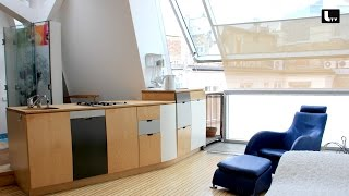 Designer DACHGESCHOSSWOHNUNG LIFESTYLE TV Video