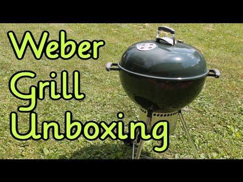 Unboxing: Weber Original Kettle Premium Charcoal Grill