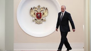 Vladimir Putin inaugurated as Russian president at the Grand Kremlin Palace