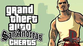 GTA San Andreas PS2/PS4 Cheat Codes