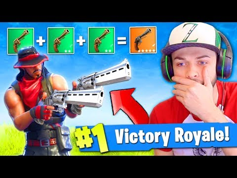 REVOLVER *ONLY* VICTORY in Fortnite: Battle Royale! (EPIC)