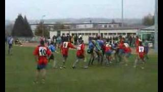 preview picture of video 'rugby a lisieux'