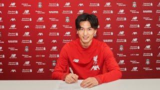 Takumi Minamino agrees Liverpool deal   リヴァプールFCは南野拓実選手と契約合意