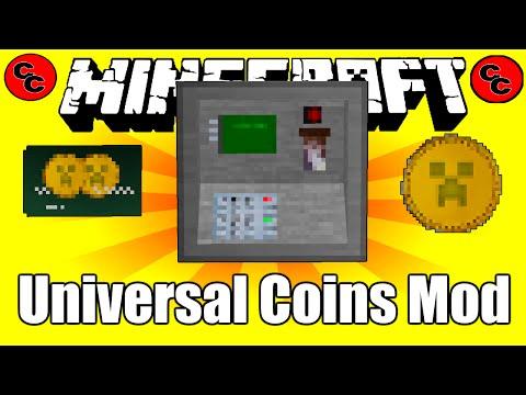 "Minecraft Mods:  ""  Universal Coins Mod 1. 8 / 1.8.9 """