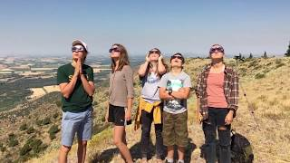 Total Solar Eclipse 2017 - We Go Crazy In Midday Twilight
