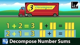 Decompose Number Sums Song – Learn Addition – Learning Upgrade App