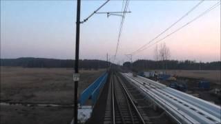 preview picture of video 'Cabview Siemens ES64F4 EIC5311 Małopolska Olszamowice-Włoszczowa Płn. CMK'