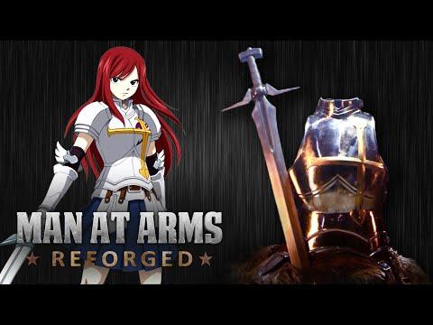 Erza Scarlet'S Sword & Armor (Fairy Tail)
