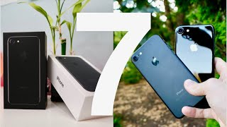 iPhone 7 Unboxing and Review (Jet Black vs Matte Black)!!!