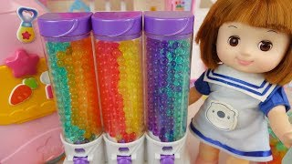 Baby doll and orbeez fruit cake toys baby Doli play