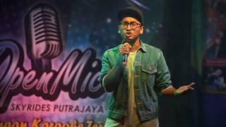Mungkin cover (Originally by Anuar Zain) - Fadhli Hariz - OpenMic Skyrides Putrajaya 2016