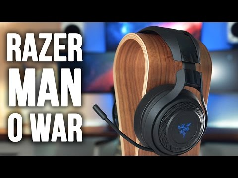Razer Man O' War Wireless Gaming Headset Review!