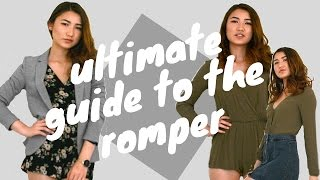 Ultimate Guide To The Romper