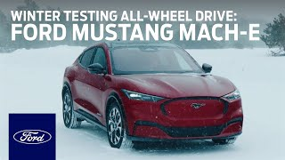 YouTube Video BR3skBYp3v4 for Product Ford Mustang Mach-E Electric Crossover by Company Ford Motor in Industry Cars