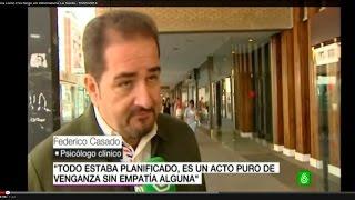 Federico Casado Reina como Psicólogo en Informativos La Sexta - 16/05/2014 - Federico Casado Reina