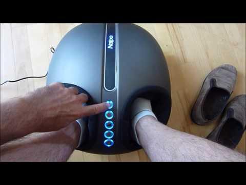 Testbericht Naipo Fußmassagegerät