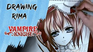 Drawing Rima from Vampire Knight [ majority request ]
