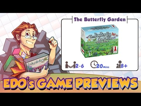 Edo The Butterfly Garden Card Game Review (KS Preview)