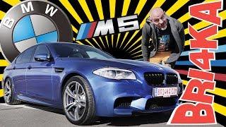 BMW M5 F10 |Test and Review| Bri4ka.com