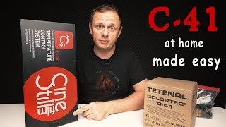 Developing C-41 Film at home made easy