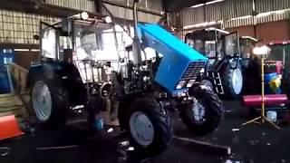 Ремонт сцепления трактора МТЗ-82.1 / Как самостоятельно скатить трактор