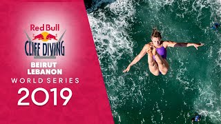 Red Bull Cliff Diving World Series LIVE In Beirut, Lebanon