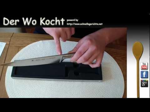 Der Wo Kocht - WMF Kochmesser 20 cm Grand Gourmet (Unboxing + Review)