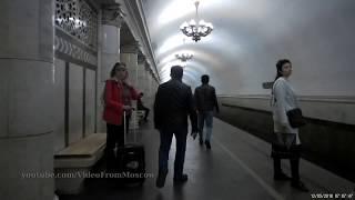 """Метро """"Павелецкая"""" (кольцевая линия) // 12 мая 2018"""